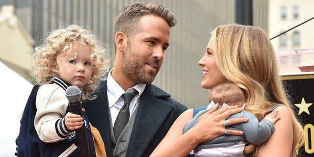 Ryan Reynolds and Blake Lively share three kids together: Jaime, Inez and Betty.