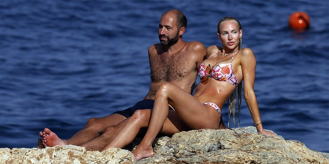 Christine Quinn and her husband Christian Richard enjoyed a summer getaway in Taormina, Sicily.