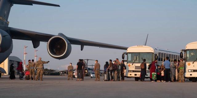 Die aus Afghanistan Vertriebenen kommen nach Deutschland.  (Verteidigungsministerium)