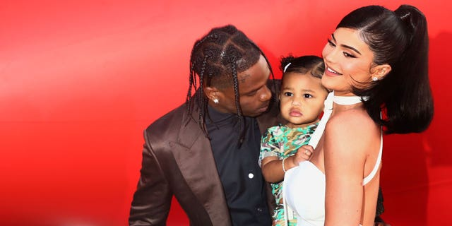 Travis Scott and Kylie Jenner are rumored to be expecting their second child together. The pair are pictured attending the Travis Scott: 'Look Mom I Can Fly' Los Angeles Premiere at The Barker Hanger on August 27, 2019, in Santa Monica, California.
