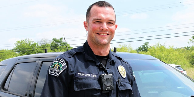"""Austin Police Officer Lewis """"Andy"""" Traylor"""