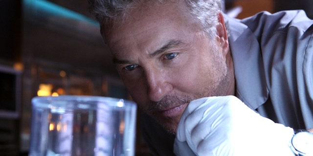 William Petersen, 68, who plays Gil Grissom on CSI:Vegas, was taken to the hospital Friday after suffering from exhaustion, his publicist said. (Photo by Sonja Flemming/CBS via Getty Images)