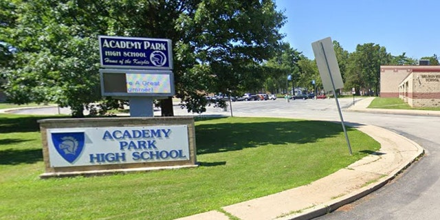 A shooting at Academy Park High School Friday night left a child dead.