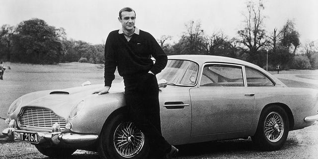 """The Aston Martin DB5 first appeared in """"Goldfinger"""" in 1964."""