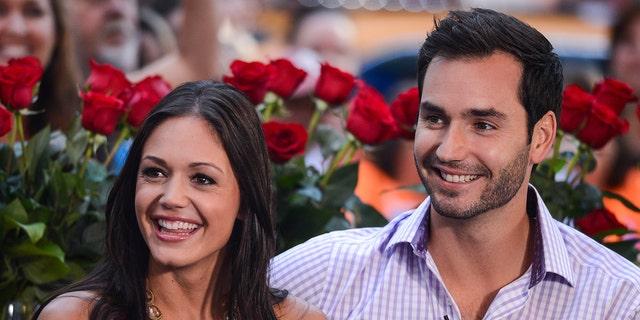 "Desiree Hartsock (L) and Chris Siegfried met on the ninth season of ""The Bachelorette."""