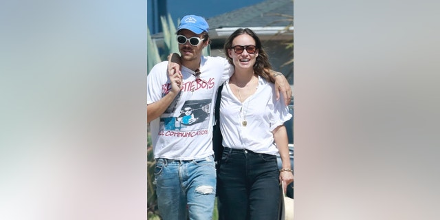 Harry Styles and actress Olivia Wilde were all smiles during a recent outing in Los Angeles days after their steamy Italian vacation.