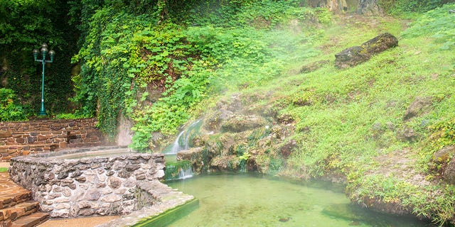 Hot Springs National Park in Arkansas has 47 natural hot springs for guests to take advantage of.