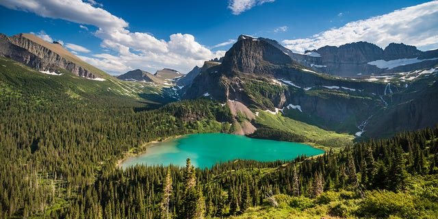 Montana offers camping in Glacier National Park that allows guests to really get off the grid.