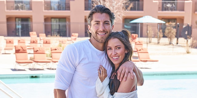 Kaitlyn Bristowe and (her now fiancé) Jason Tartick.