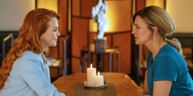 """Lucy Lawless as Alexa Crowe (R) in Season 2 of """"My Life Is Murder."""" Renee O'Connor (L) is guest starring on an episode."""
