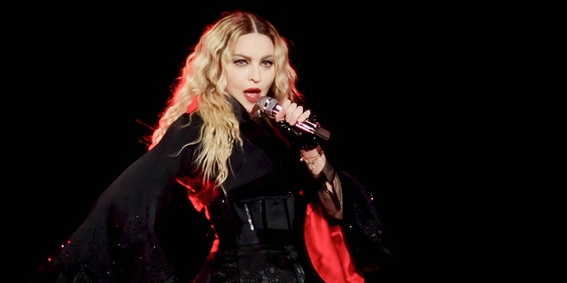 Madonna revealed Thursday she had a phone call with Britney Spears where she congratulated the fellow pop star on her recent engagement.