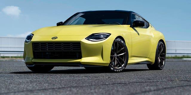 La Nissan Z Proto offre un'anteprima di come sarà la nuova Nissan Z.
