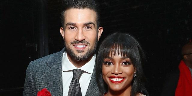 Bryan Abasolo (L) and Rachel Lindsay married in 2019.