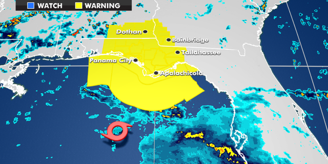 Tropical Storm Warnings currently in effect.
