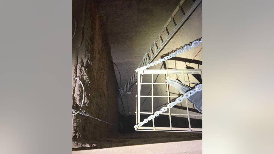 California mexico drug trafficking tunnel