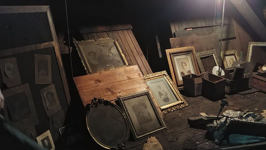 Man finds hidden attic in new house full of valuable antiques