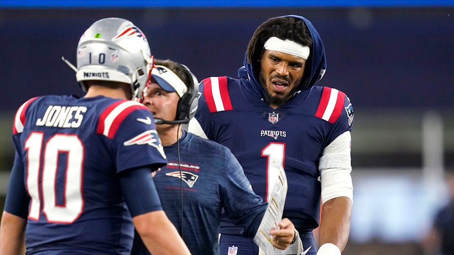 Patriots' Cam Newton 'certainly is the starter now', coach says