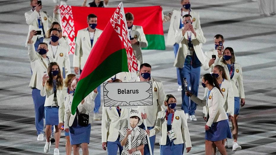 Belarus runner says team forcing departure