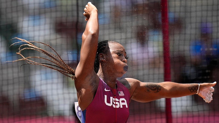 USA's Gwen Berry says she's 'earned the right to wear this uniform'