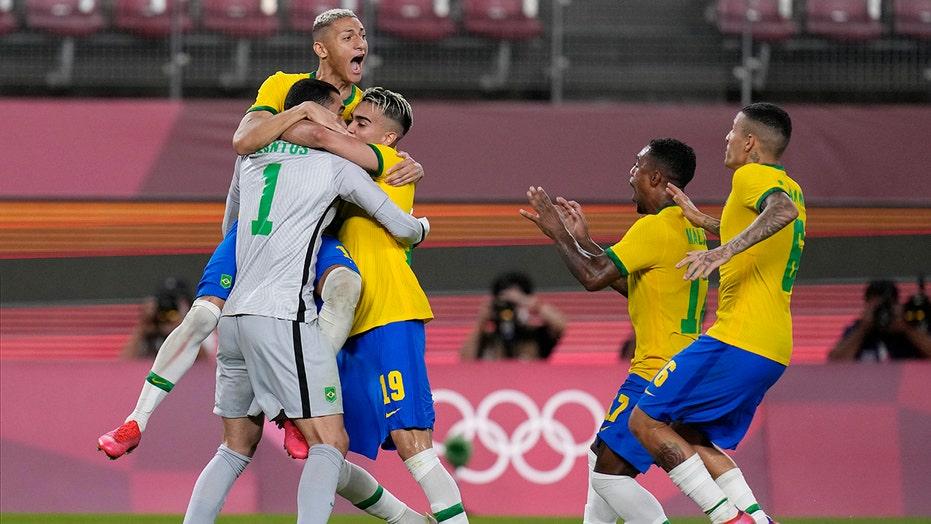 Brazil to play Spain in men's Olympic soccer gold-medal game