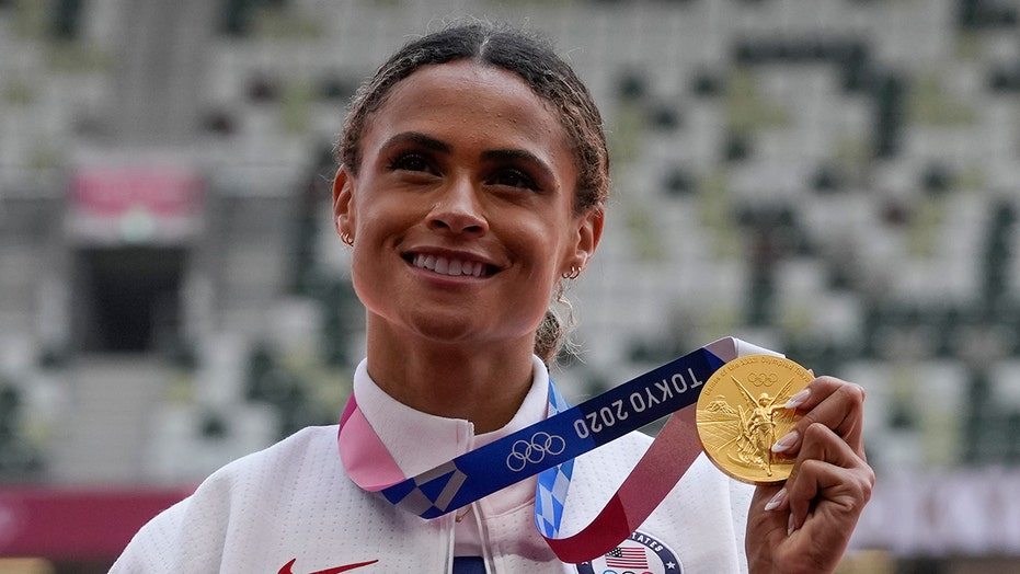 Sydney McLaughlin's Olympic gold celebrated in viral video by her NJ alma mater