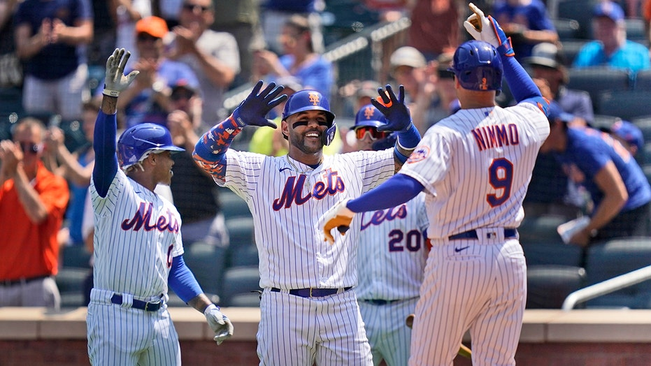 Nimmo drives in 4, Stroman strong, Mets beat Nats 4-1