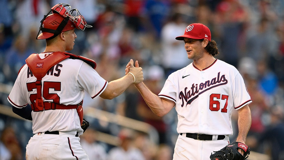 Bell's three-run homer lifts Nats to sweep of Blue Jays