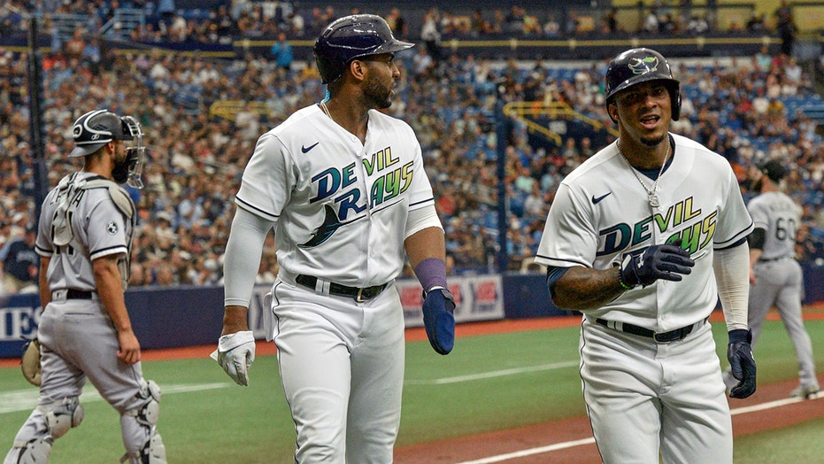 Rays beat White Sox 8-4; McHugh earns first save