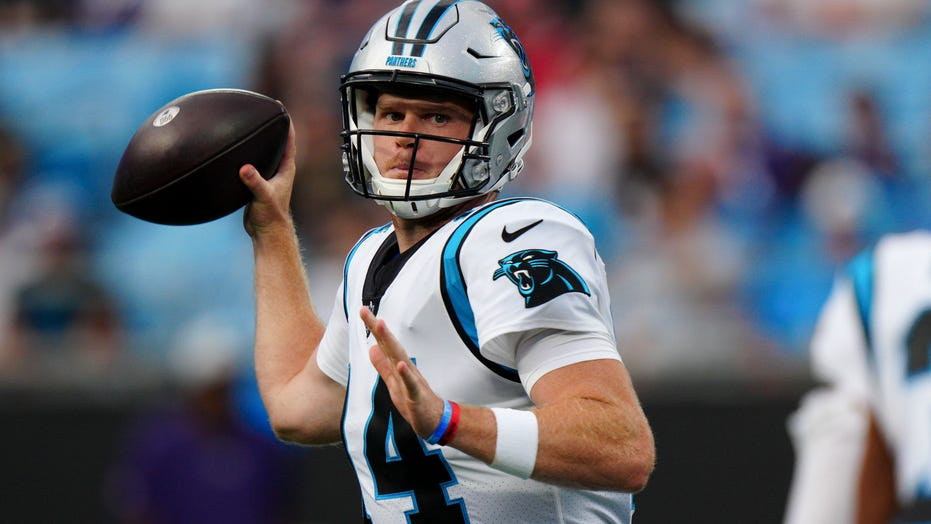 Darnold throws 2 TDs, Panthers smother Steelers backups 34-9