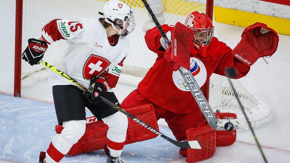 Russia beat Switzerland 3-1 in women's world hockey