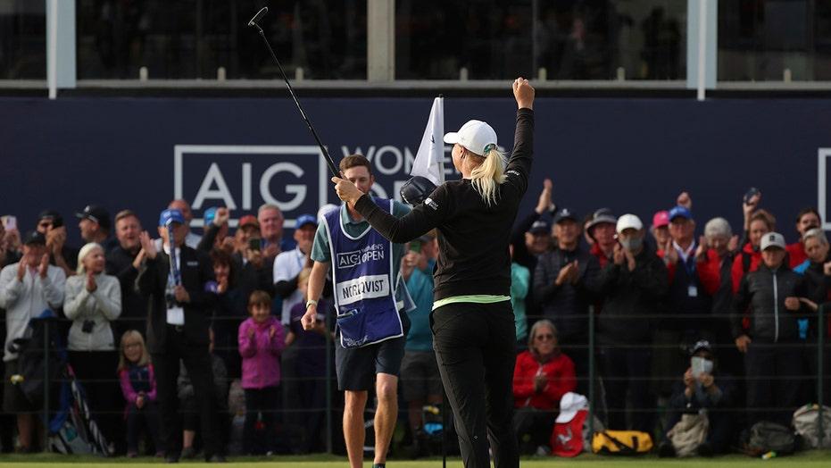 Nordqvist wins Women's British Open for 3rd major title