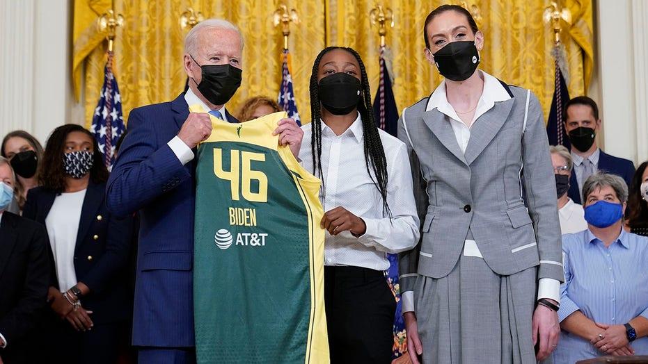 Biden praises WNBA champs for social justice activism