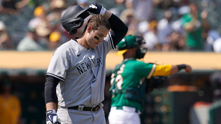 Yankees' win streak ends at 13; Montas, A's stop 6-game skid