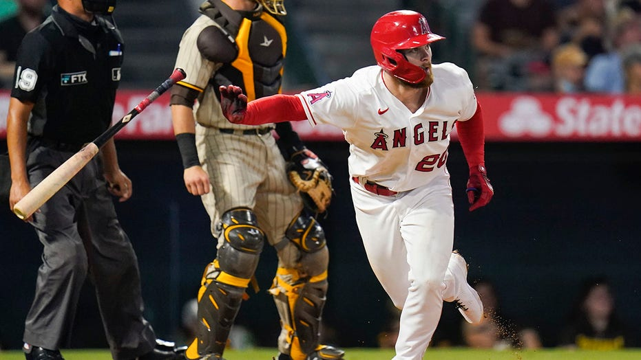 Upton, Ohtani hit milestones in Angels' 10-2 rout of Padres