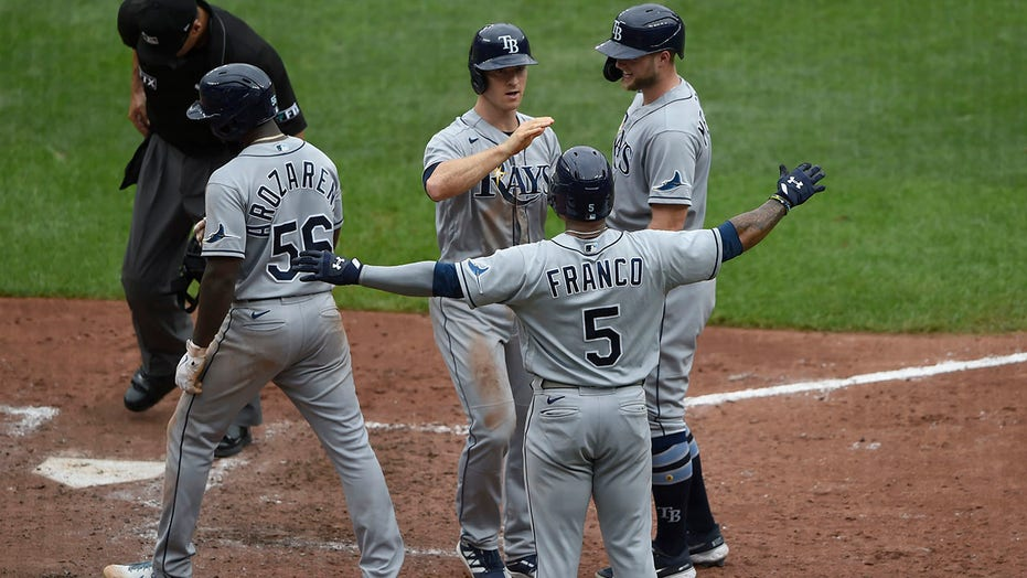 Wendle slam, 6 RBIs; Rays finish 18-1 vs Orioles this year