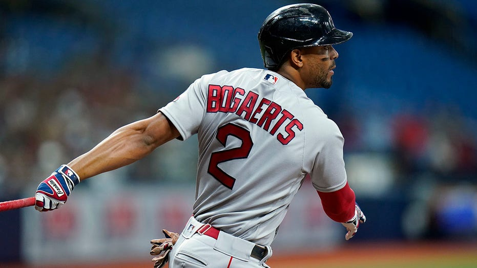 Boston's Bogaerts pulled from game after positive virus test
