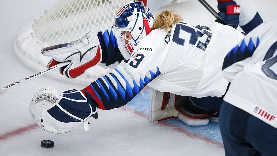 US beats Switzerland 3-0 to open women's world hockey