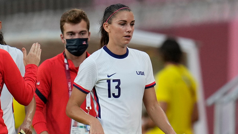 Alex Morgan 'couldn't be more proud' of UWSNT after finishing Olympics with bronze medal