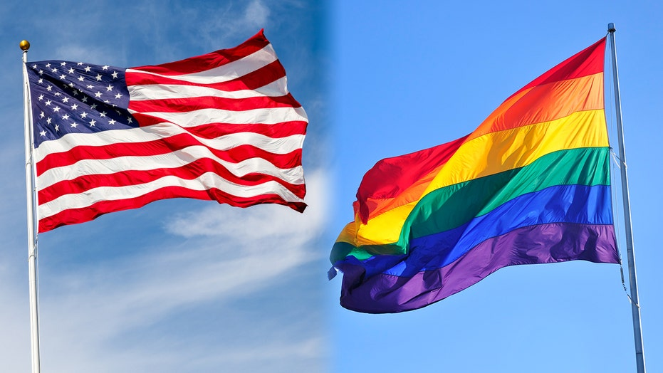 Calif teacher who removed US flag, suggested students pledge allegiance to pride flag removed from classroom