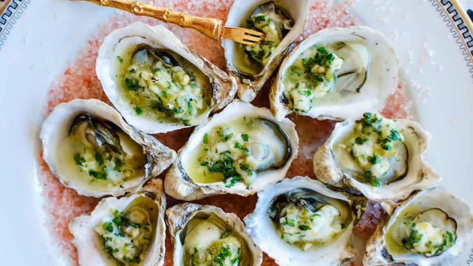Grilled oysters with green chile garlic butter are 'briny and tender': Try the recipe