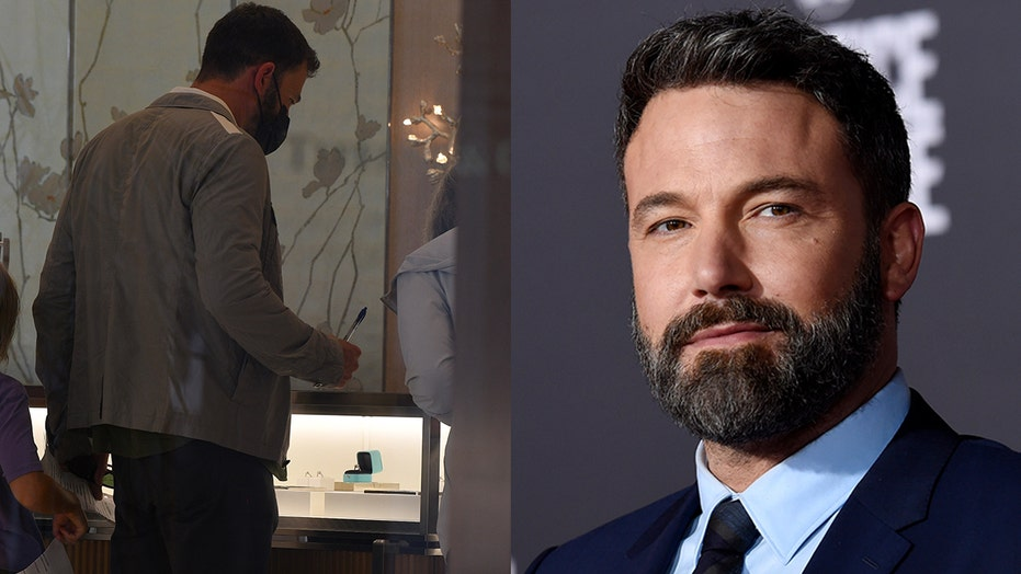 Ben Affleck spotted looking at rings, other jewelry at Tiffany & Co