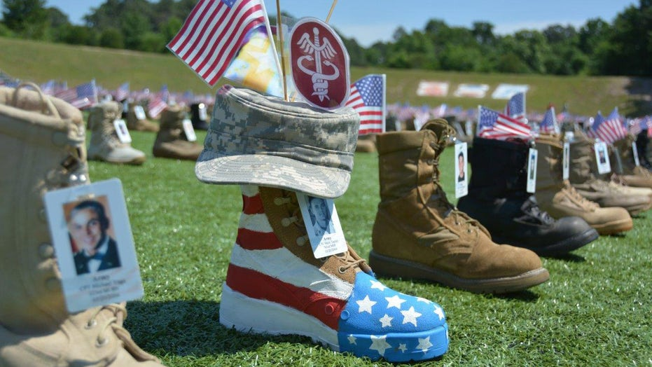 Fort Bragg collecting military boots to represent our nation's fallen heroes