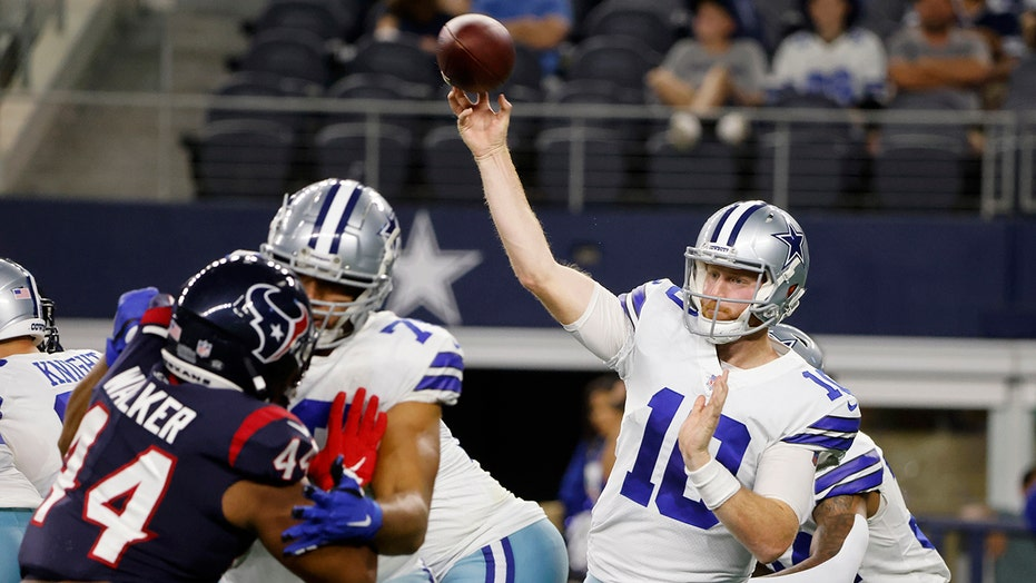 QB Rush solid for Cowboys in 20-14 preseason loss to Texans