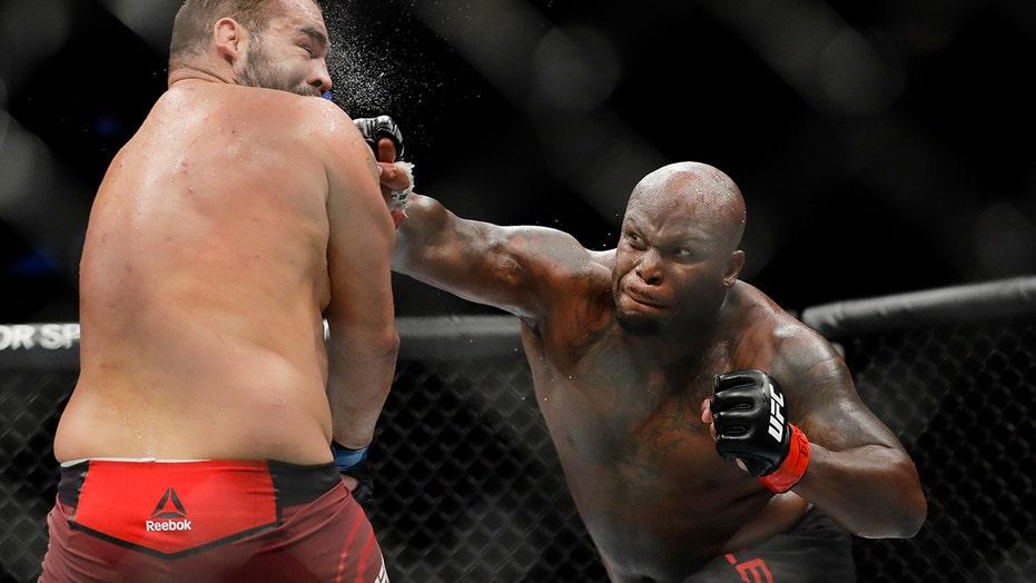 Houston's Derrick Lewis fights for interim UFC title