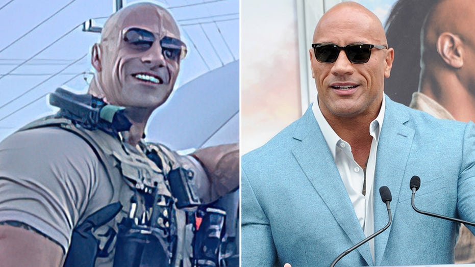 Dwayne 'The Rock' Johnson reacts to his doppelganger cop: 'Stay safe brother and thank you for your service'
