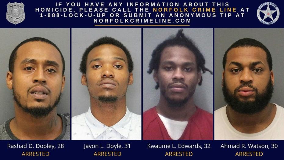 Virginia police arrest 4 men in cold case murder of late Maryland Rep. Elijah Cummings' nephew