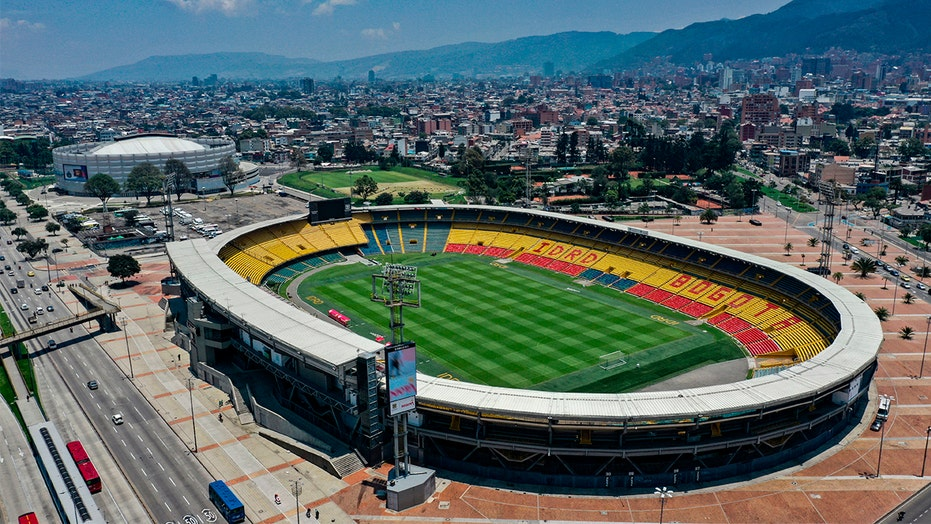 Massive brawl at Colombian soccer game leads to injuries; 3 suspects in custody