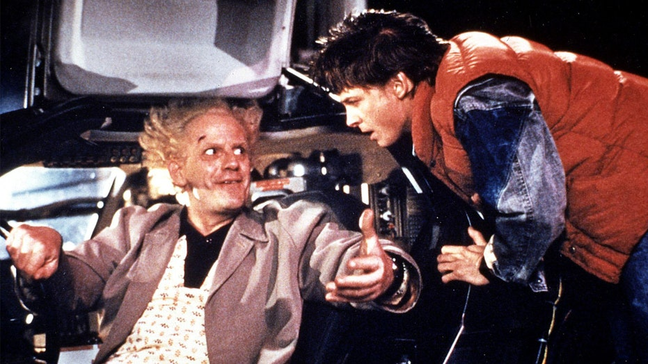 Michael J. Fox reunites with his 'Back to the Future' costar Christopher Lloyd on Instagram: 'Back to back'