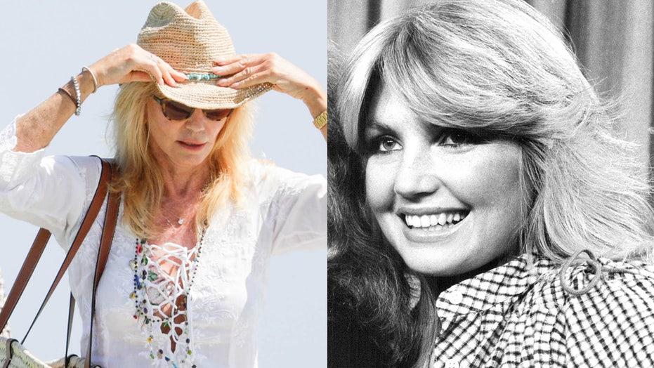 Former Bond girl Susie Vanner, 70, unveils her youthful figure during summery Saint-Tropez getaway