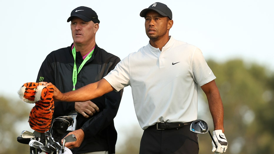 Tiger Woods' caddie will carry the bag for different golfer